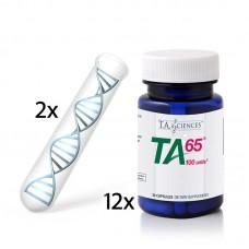 Life Length T.A.T. Testi(x2)  + 1 Yıl (x12) Avantajlı TA-65 MD, 100 Ünite, 30 Kapsül