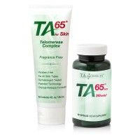 TA-65 MD, 250 Ünite, 90 Kapsül + TA65 for Skin 118 ml., Kombine Paket